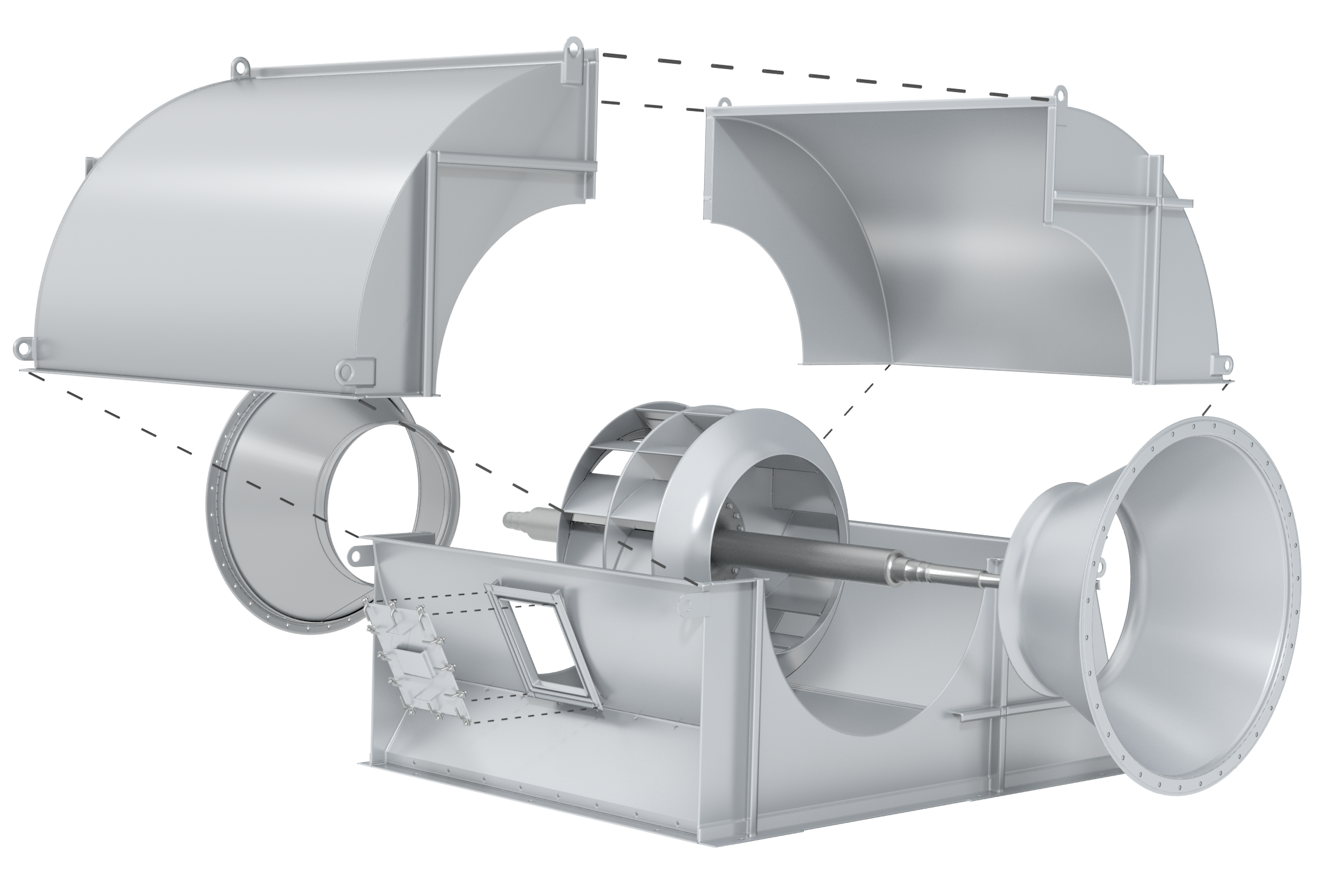 Centrifugal Rendering